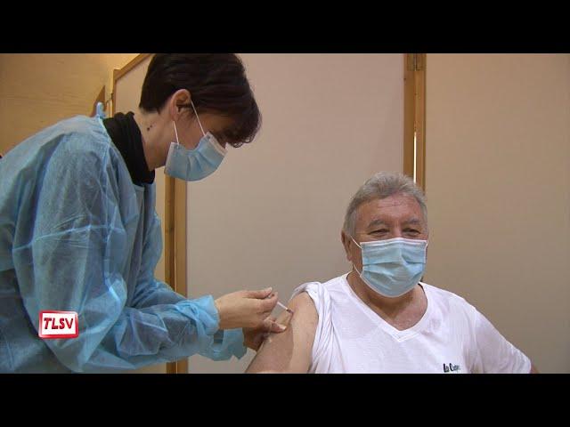 Luçon : le centre de vaccination a accueilli ses premiers patients