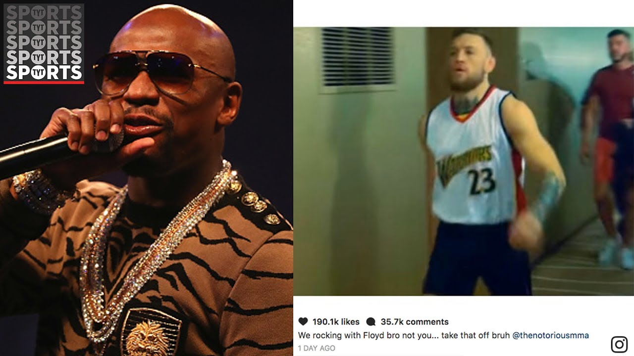 separation shoes 59fb8 5b6f8 Conor McGregor Pulled the Greatest Troll of Mayweather Ever