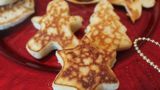 How to make Christmas Pancakes!!