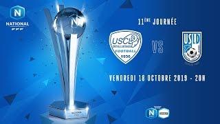 11e journée : Créteil - Dunkerque I National FFF 2019-2020