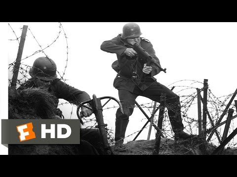 The Longest Day (3/3) Movie CLIP - The Assault on Pointe du Hoc (1962) HD