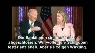 Iran ausschalten - Hillary Clinton & James Baker