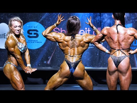Incredible Women's Physique – Great Class at Pro Qualifier and the winner is amazing!