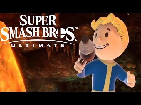 Super Smash Bros Ultimate Vault Boy Reveal Trailer Nintendo Direct 2020