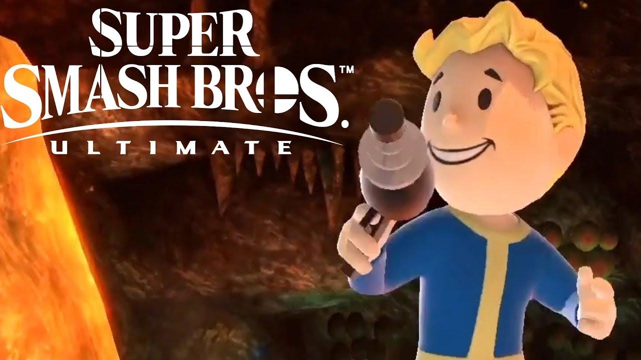 Super Smash Bros Ultimate Vault Boy Reveal Trailer Nintendo Direct 2020 -  YouTube
