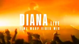 Phillip Boa & The Voodooclub - Diana (live) - Time Warp Video Mix