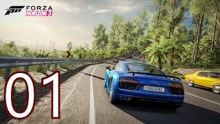 Forza Horizon 3 Demo Gameplay Walkthrough - Part 1 - Xbox One