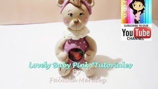 FIGURAS DE PORCELANA FRIA TUTORIAL COMPLETO GRATIS!!! / How to make Cold porcelain bear