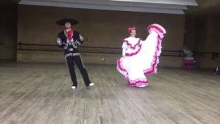Learning to Dance el Jarabe Tapatío in Mexico