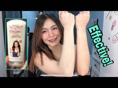 Effective Whitening Lotion! Super affordable! (Korean Skin)