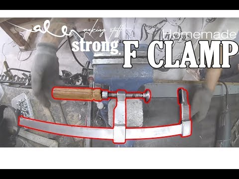 DIY strong F clamp