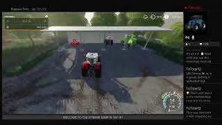 Commentary towards the end, RDC FS19, mowing,