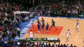 2012-02-20 NBA 尼克 vs 小牛 林書豪 生涯新高 14助攻 精彩畫面