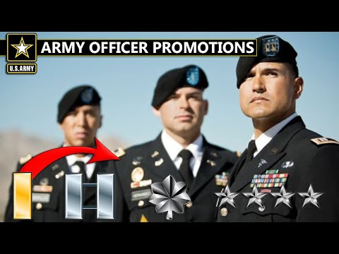 How Army Officers Get Promoted | 2nd Lieutenant To General