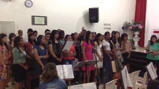 Jovens da Assembleia de DEUS de timoteo (Novo Tempo) em Dionisio,MG