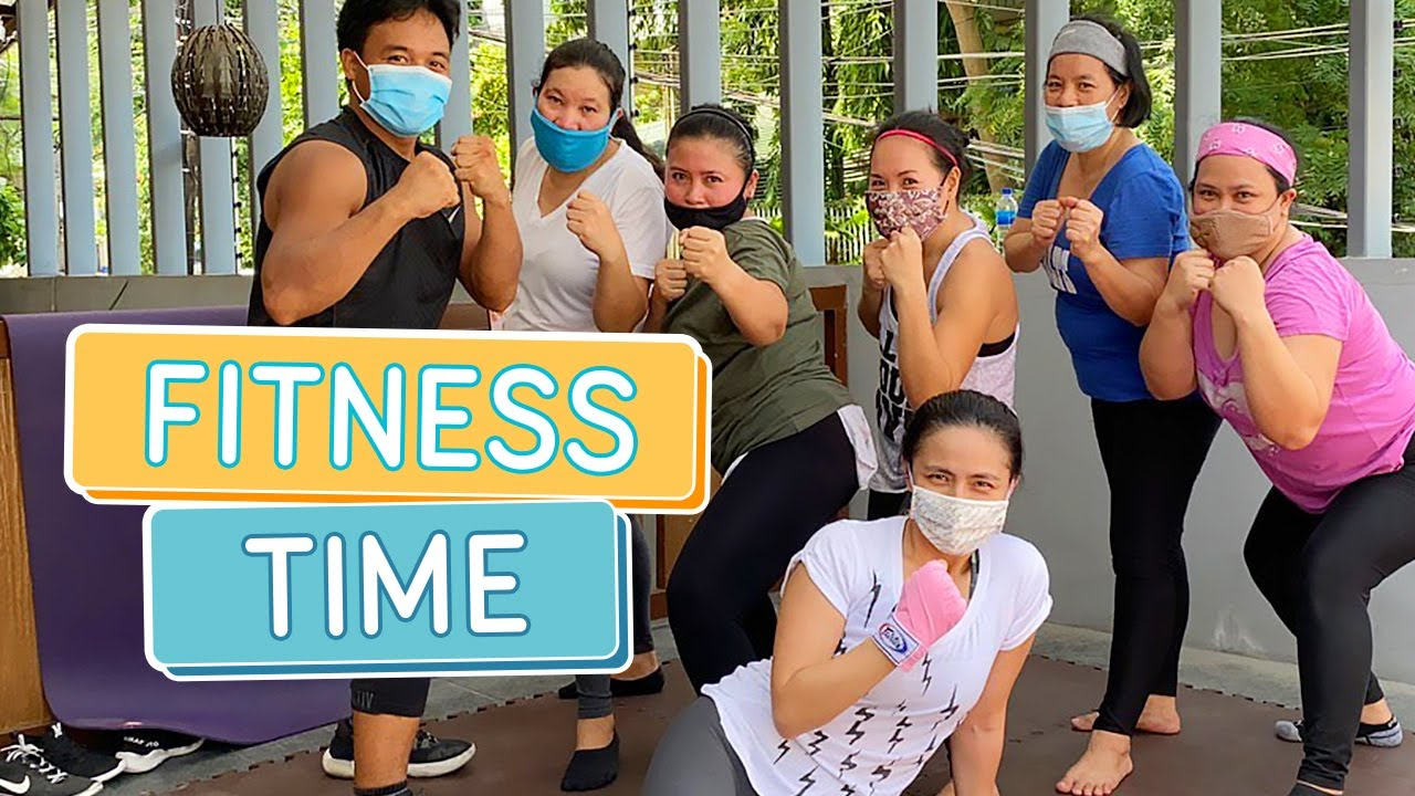 FITNESS TIME: LOLLICAKE STAFF WORKOUT - Alapag Family Fun