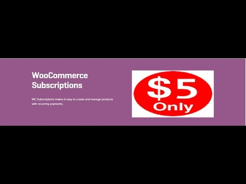 WooCommerce Subscriptions 2.3.5 Extension
