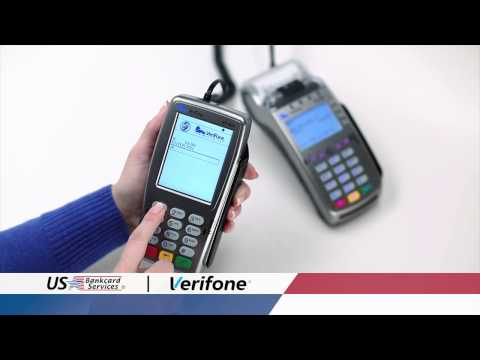 Verifone EMV Chip Payment - Merchant account - Credit Card Processing / US Bankcard Services, Inc.