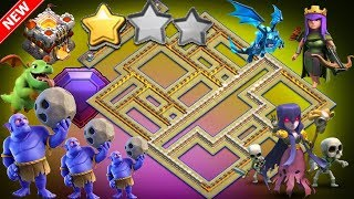 NEW TH11 WAR BASE 2018(Layout) Anti 2 Star With Replay Anti BoWitch Anti Queen Walk PROOF!!