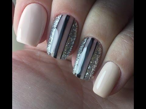 Французский Маникюр (Френч) и Лунный Маникюр! Дизайн Ногтей! Nail Art