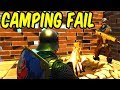 CAMPING GONE WRONG - Fortnite Battle Royale Funny Moments