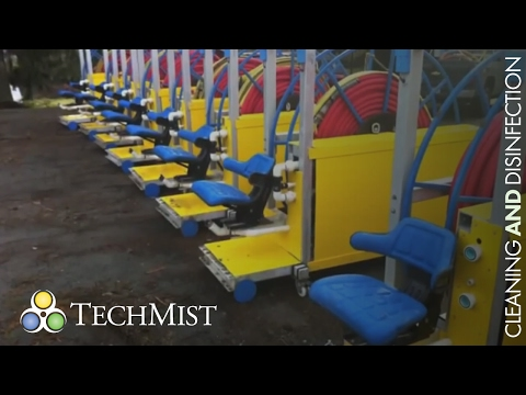 Tech Mist Greenhouse Cleaning and Disinfection