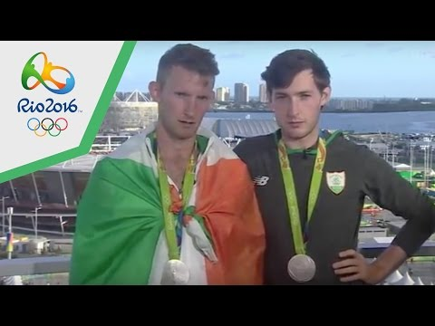 Irish Rowing Silver Medal Interview Rio Olympics 2016 Funny