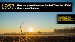 Daylight saving time in Indiana is complicated