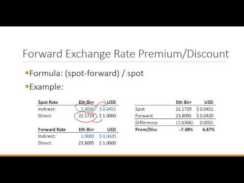 Financial Institutions and Markets:  Foreign exchange markets 1