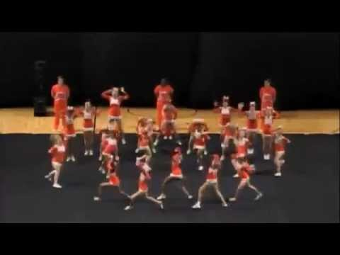 Mauldin High School Cheerleading 14-15 at STATE