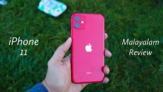 iPhone 11 review in Malayalam!!(Product RED)