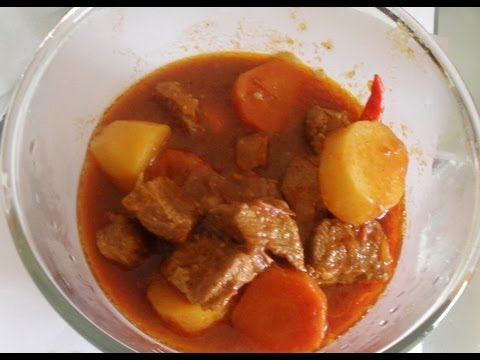 Beef Stew Recipe -  African food recipe