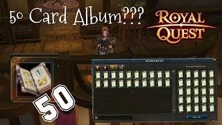 FastArcher Open 50 Card Album Royal Quest