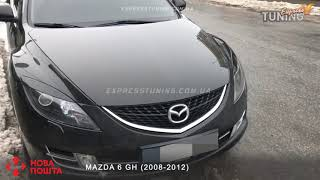 Реснички Мазда 6 GH  Накладки на фары Mazda 6 GH  AOM Tuning  Тюнинг запчасти  Обзор