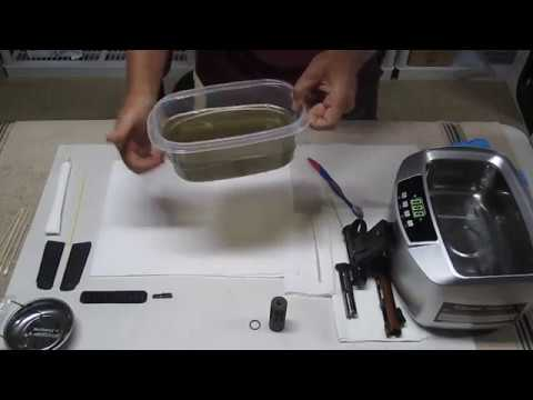 How To Clean The Ruger 22/45 Lite With a Ultrasonic Cleaner