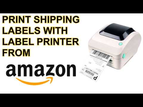 How to Print Amazon Shipping Labels from Seller Central for Merchant  Fulfillment Order on Windows
