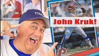 John Kruk and more TTM Autographs Through The Mail! 📬