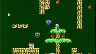 Mighty Bomb Jack gameplay, Famicom