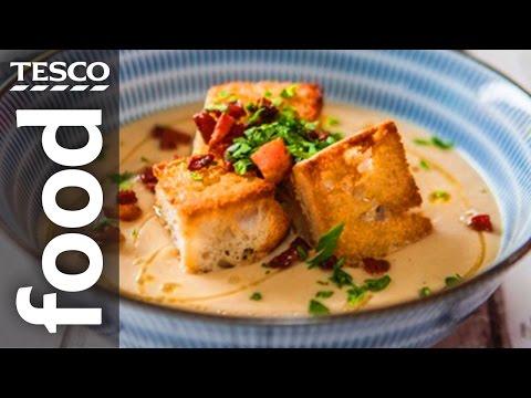 Celeriac and Apple Soup Recipe | #TescoHelpSquad with SORTEDfood