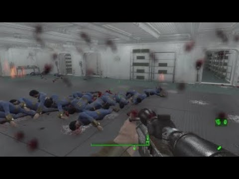 Fallout 4 Mod Review #1 - Skillzerk Weapons Pack
