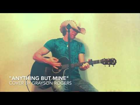Anything But Mine - Kenny Chesney [Acoustic Cover]