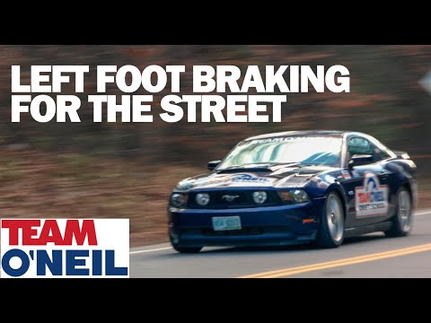 5 Reasons To Left Foot Brake On The Street