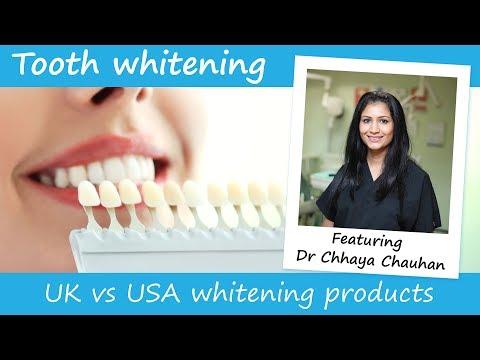 Teeth Whitening Uk Vs Us Products Procedures Youtube