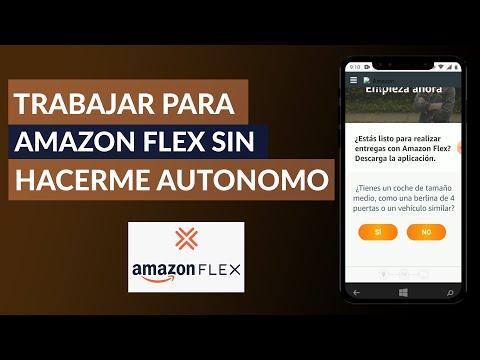 Cómo Puedo Trabajar para Amazon Flex sin Tener que Hacerme Autónomo