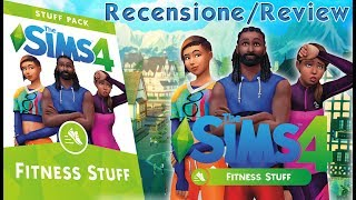 The sims 4 Fitness Stuff Recensione/Review ITA