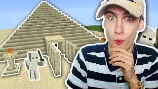 DE GEVAARLIJKE PYRAMIDE IN! (Minecraft Sky Elements #17)