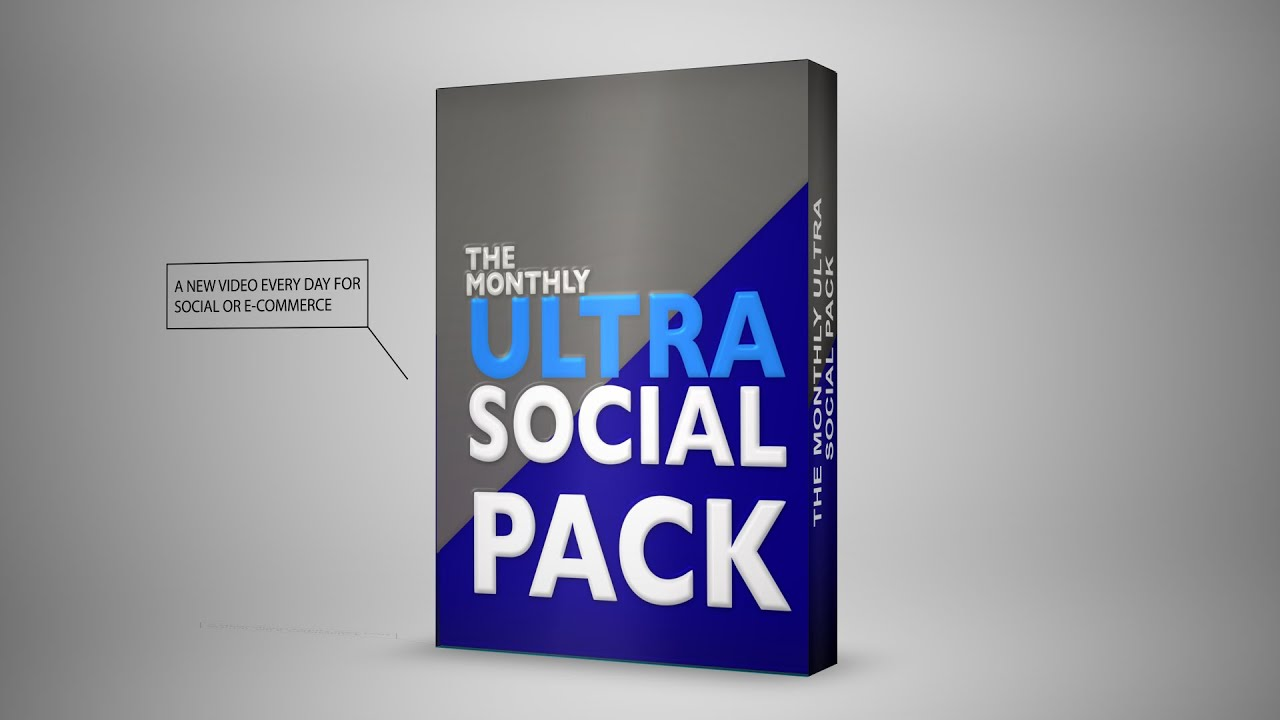 New Ultra Monthly Social Pack