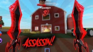 Trying out IMP + Getting Krampus! (Roblox Assassin)