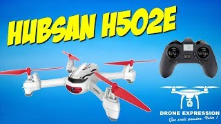 HUBSAN H502E X4 DESIRE PRESENTATION UNBOXING REVIEW FLIGHT TEST BANGGOOD DRONE EXPRESSION FRENCH