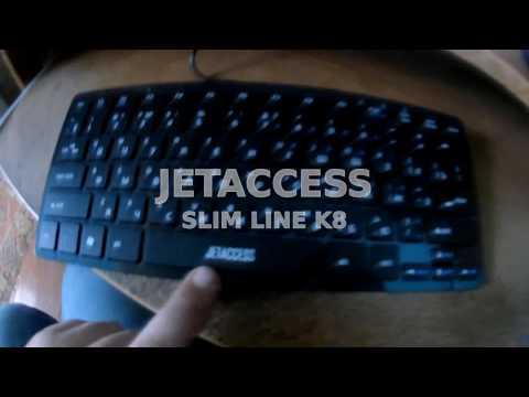 Клавиатура JETACCESS SLIM LINE K8